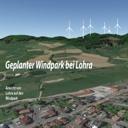 Video: Anflug auf den geplanten Windpark Lohra (Okt. 2019)